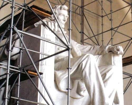 Lincoln Memorial - Scaffold