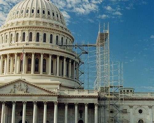 U.S. Capitol - Scaffolding