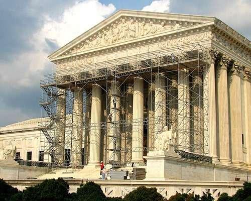 U.S. Supreme Court - Scaffolding